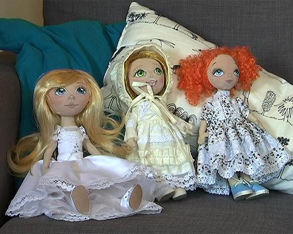 Краснодарские мастера по изготовлению текстильных кукол рассказали о своем творчестве