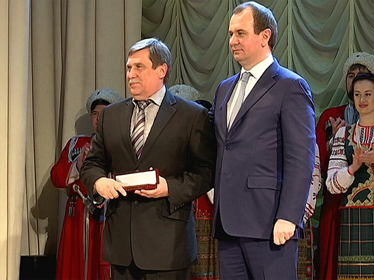 Преподавателям КубГАУ вручили медали за вклад в развитие АПК