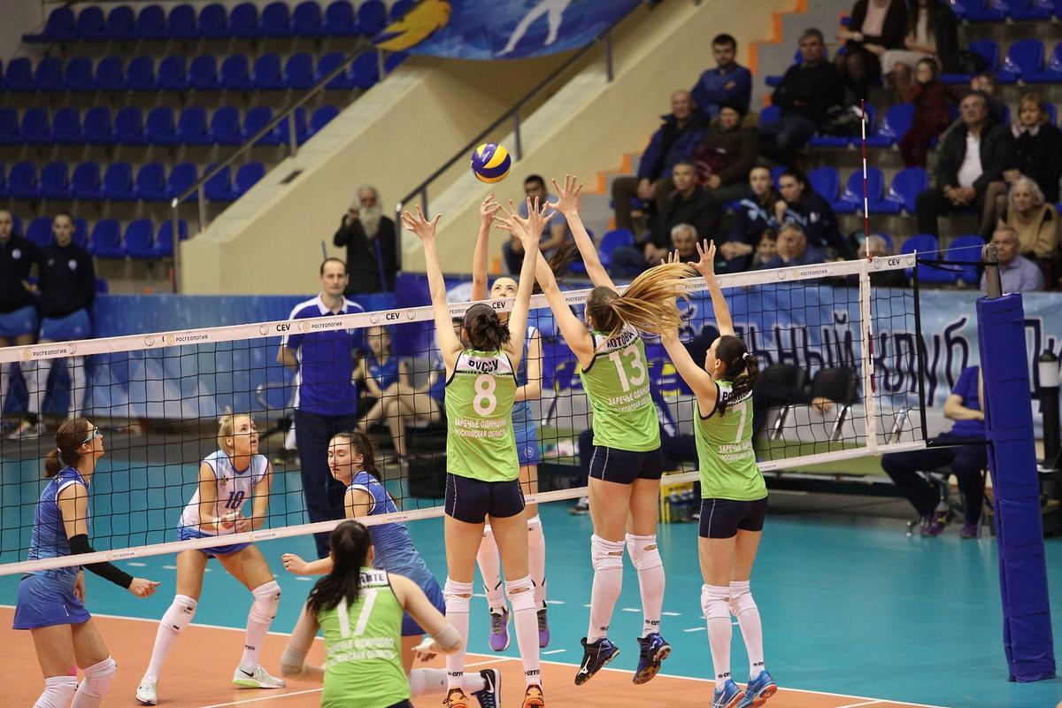 Волейболистки «Динамо Краснодар» дома сыграли с командой «Заречье-Одинцово»