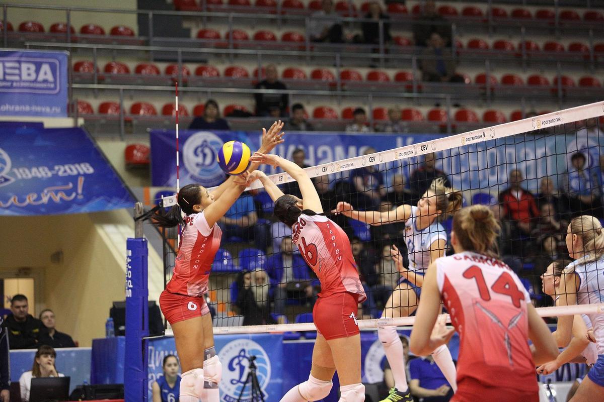 В Краснодаре завершился первый финальный тур женской волейбольной Суперлиги