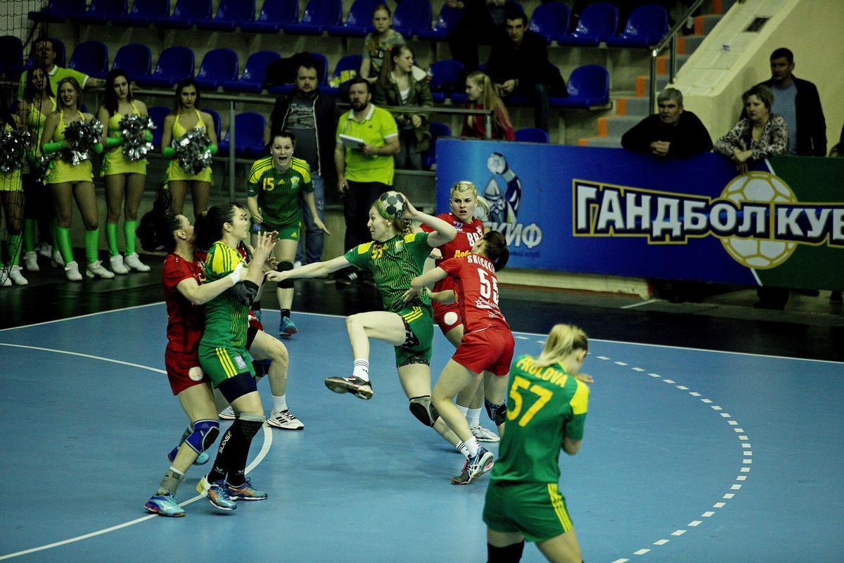 ГК «Кубань» провел ответный матч Суперлиги против «Астраханочки»