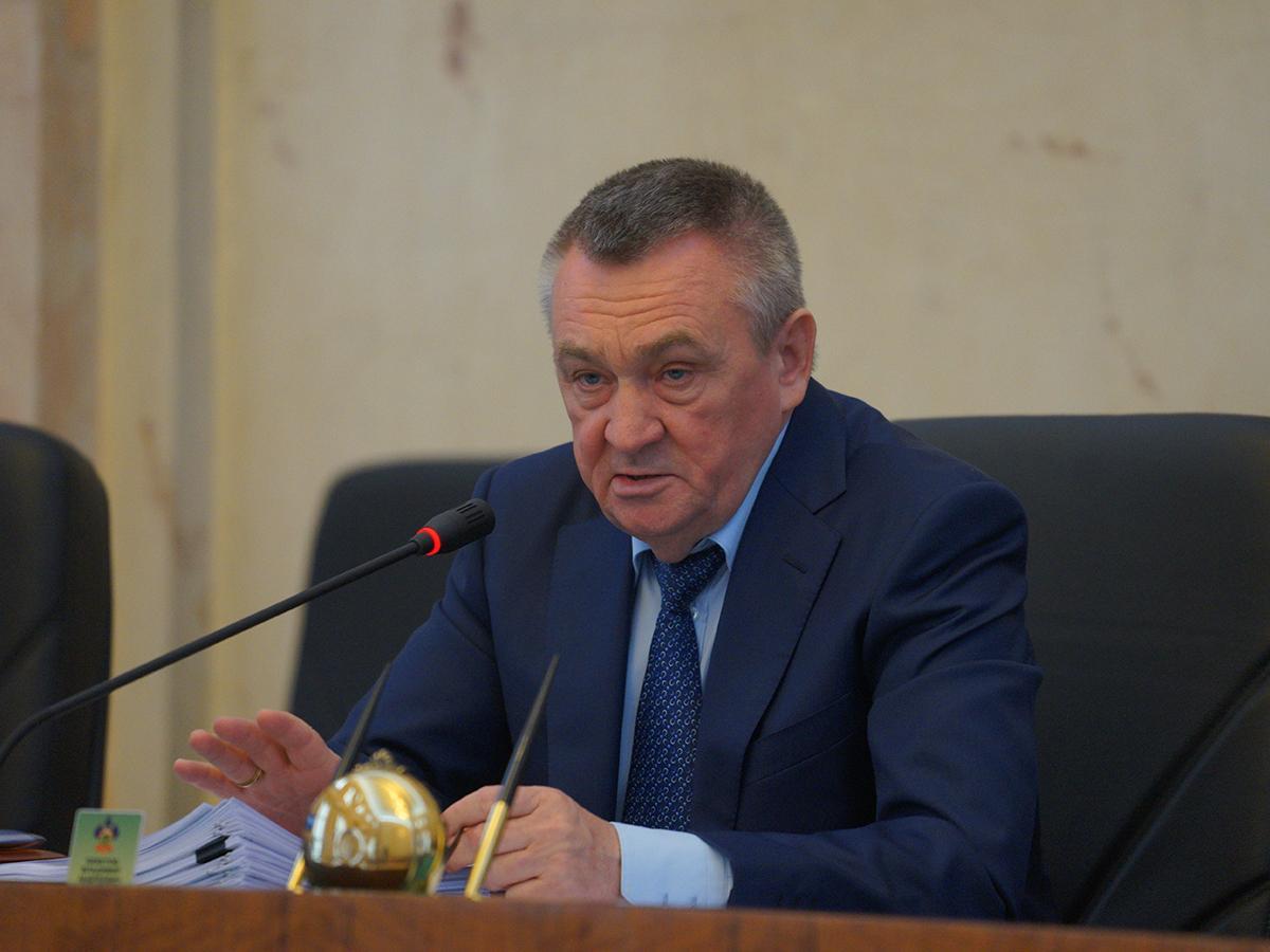 Спикер кубанского парламента Владимир Бекетов отметил день рождения