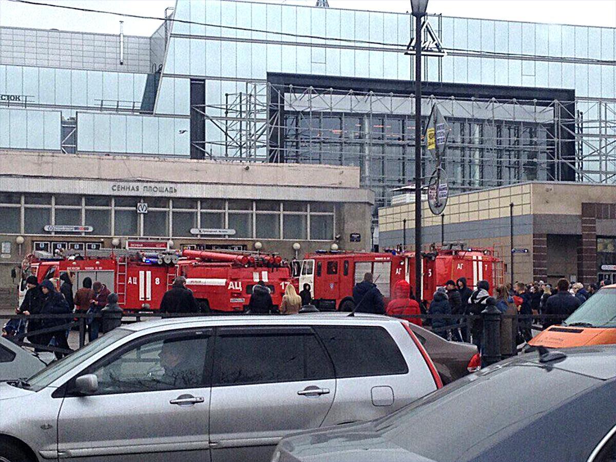 Корреспондент «Кубань 24» рассказала об обстановке на транспорте в Санкт-Петербурге после взрыва