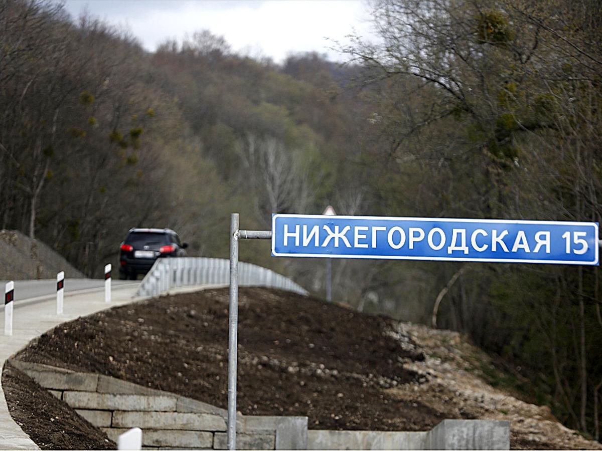 Вениамин Кондратьев протестировал новую дорогу в поселок Мезмай