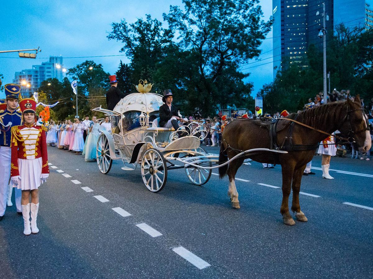 В Сочи в ежегодном карнавале примут участие лошади