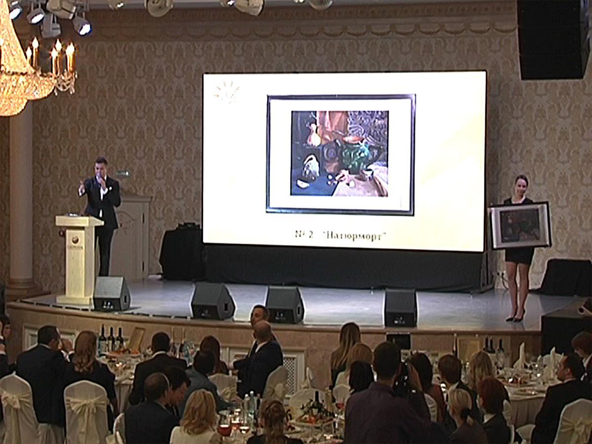 На благотворительном вечере представили 70 картин подопечных фонда «Край Добра»