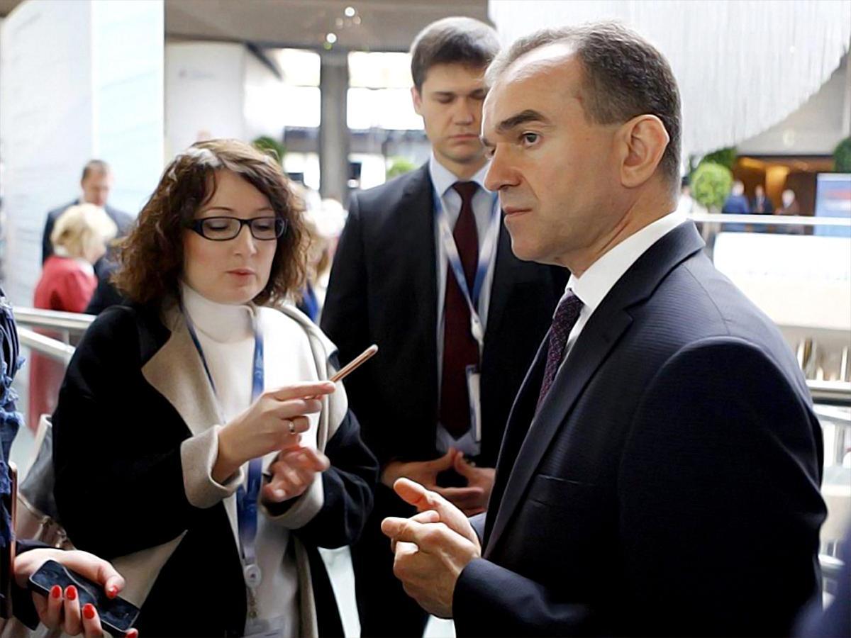 Губернатор Кубани и глава Крыма обсудили перспективы сотрудничества