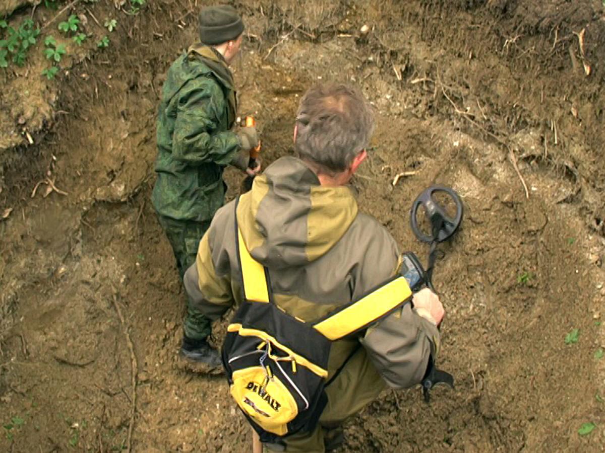 В Крымском районе поисковики нашли осколки истребителя «Аэрокобра»