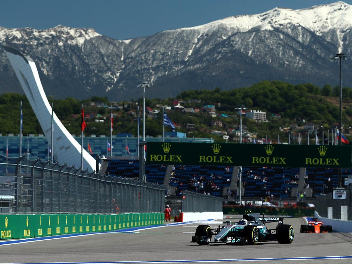 На «Сочи Автодроме» прошел первый старт Гран-при России «Формулы-1»