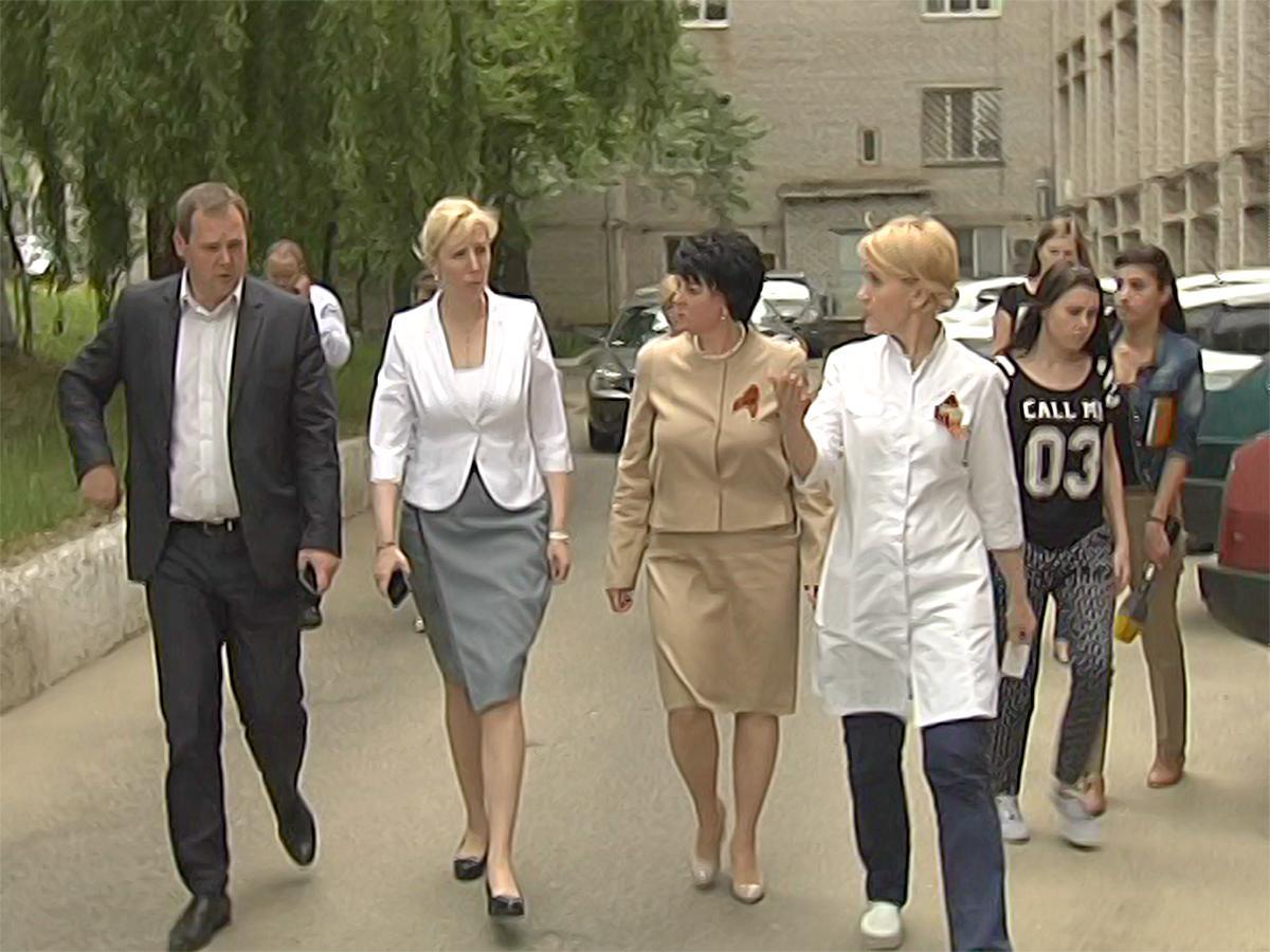 Анна Минькова проверила работу системы здравоохранения Горячего Ключа