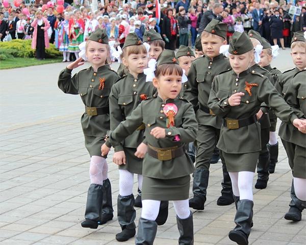 В Каневском районе прошел «Парад правнуков Победы»