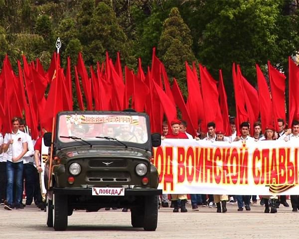 Самые масштабные парады Победы прошли в городах воинской славы