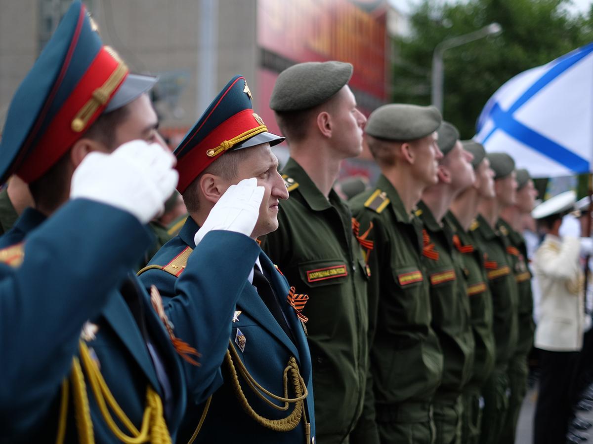 На Кубани в каждом районе прошли парады Победы