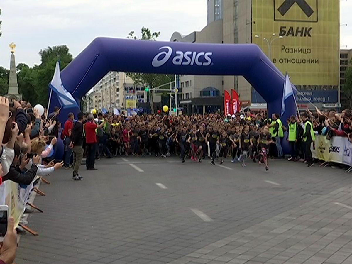 В Краснодаре в массовом забеге приняли участие дети и пенсионеры