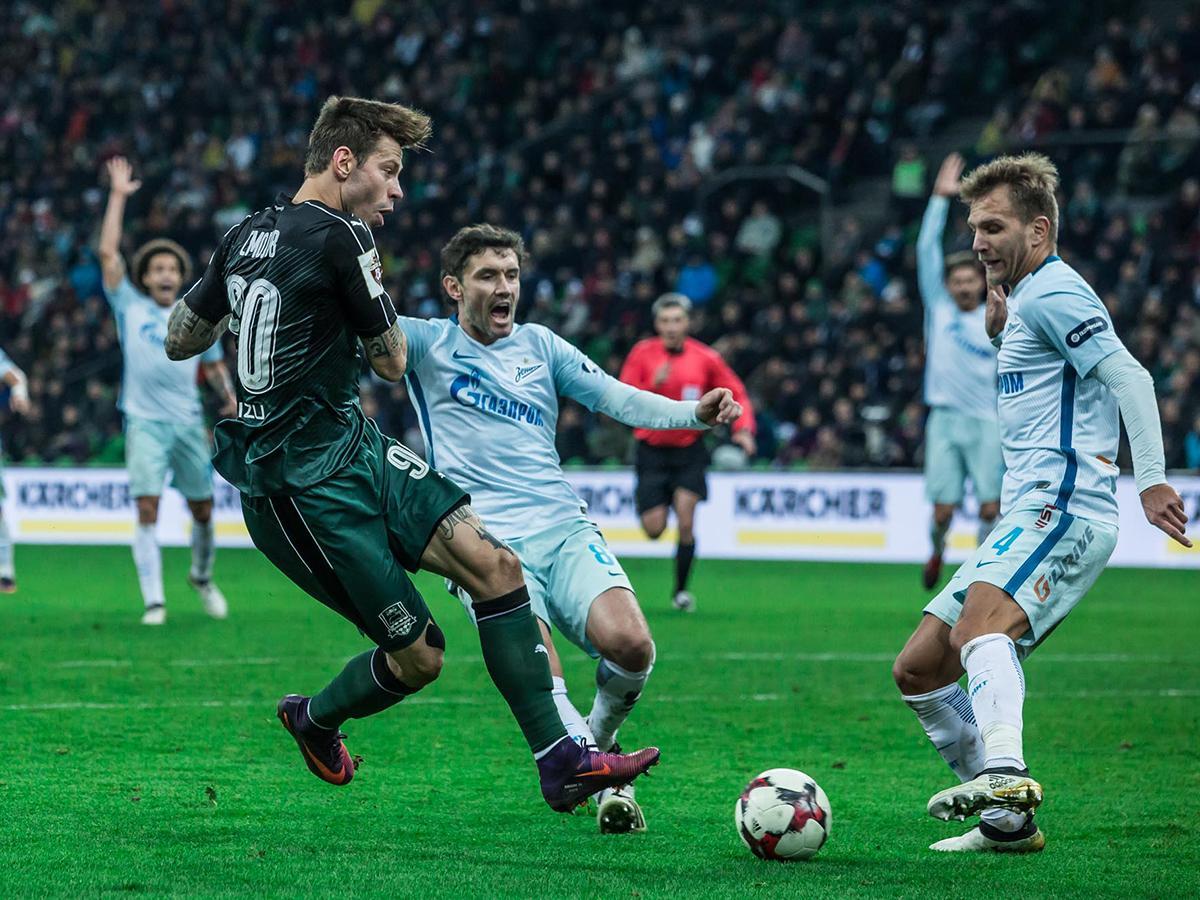 Как ФК «Краснодар» провел матч предпоследнего тура чемпионата России