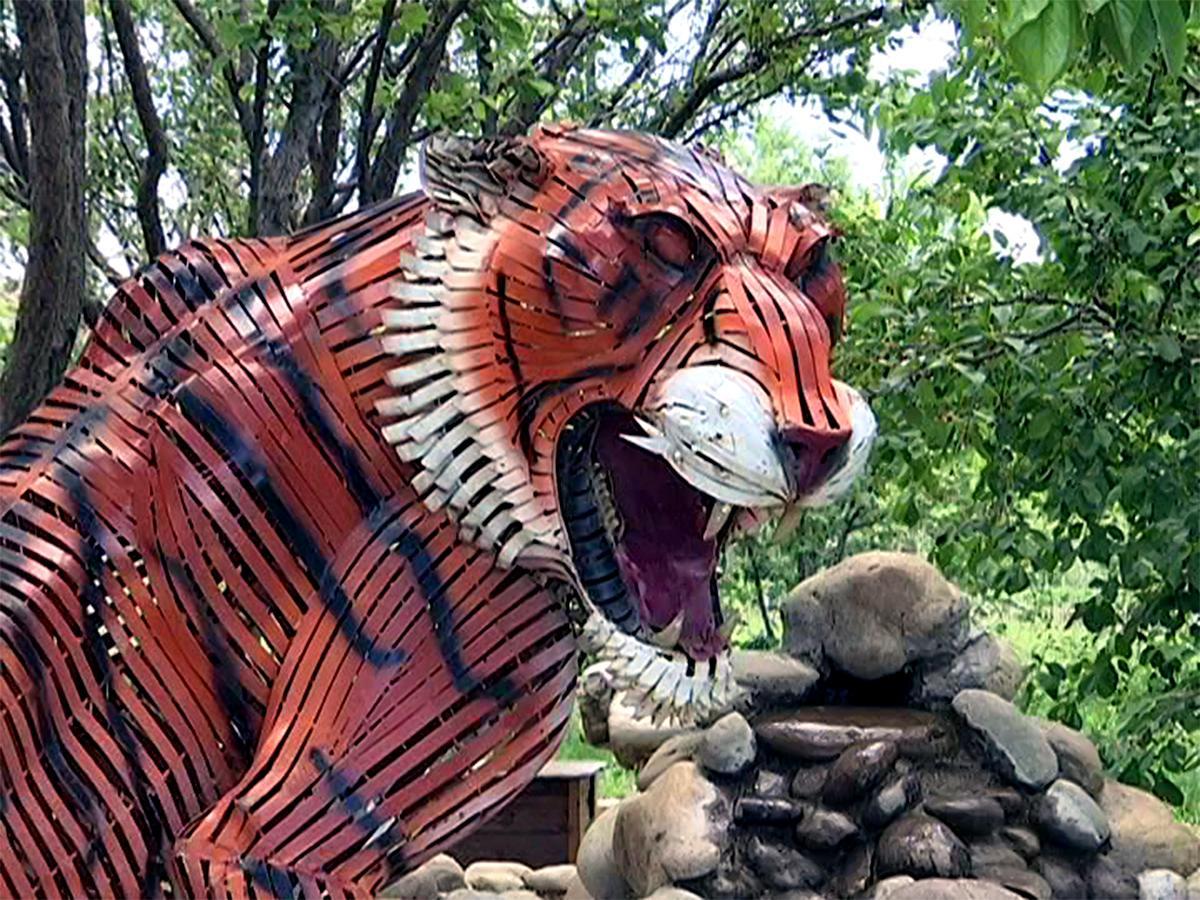 Как мастер из Тихорецка создает реалистичные скульптуры из металла