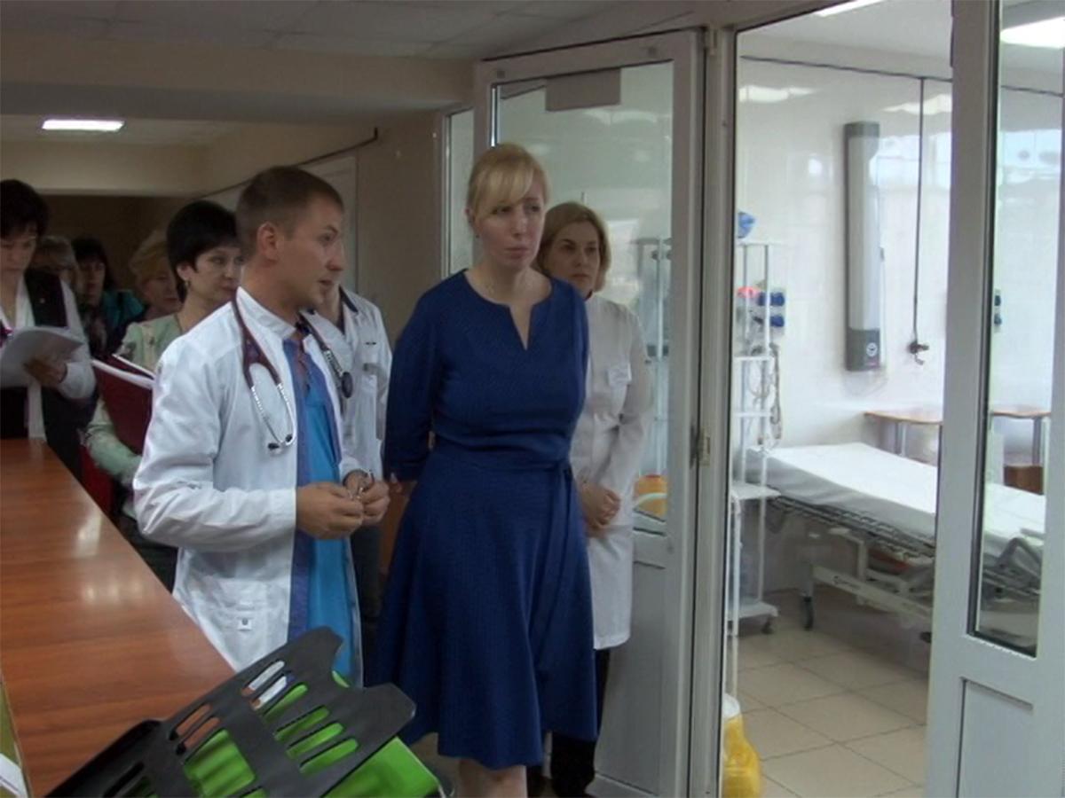 Анна Минькова посетила социальные объекты Новороссийска