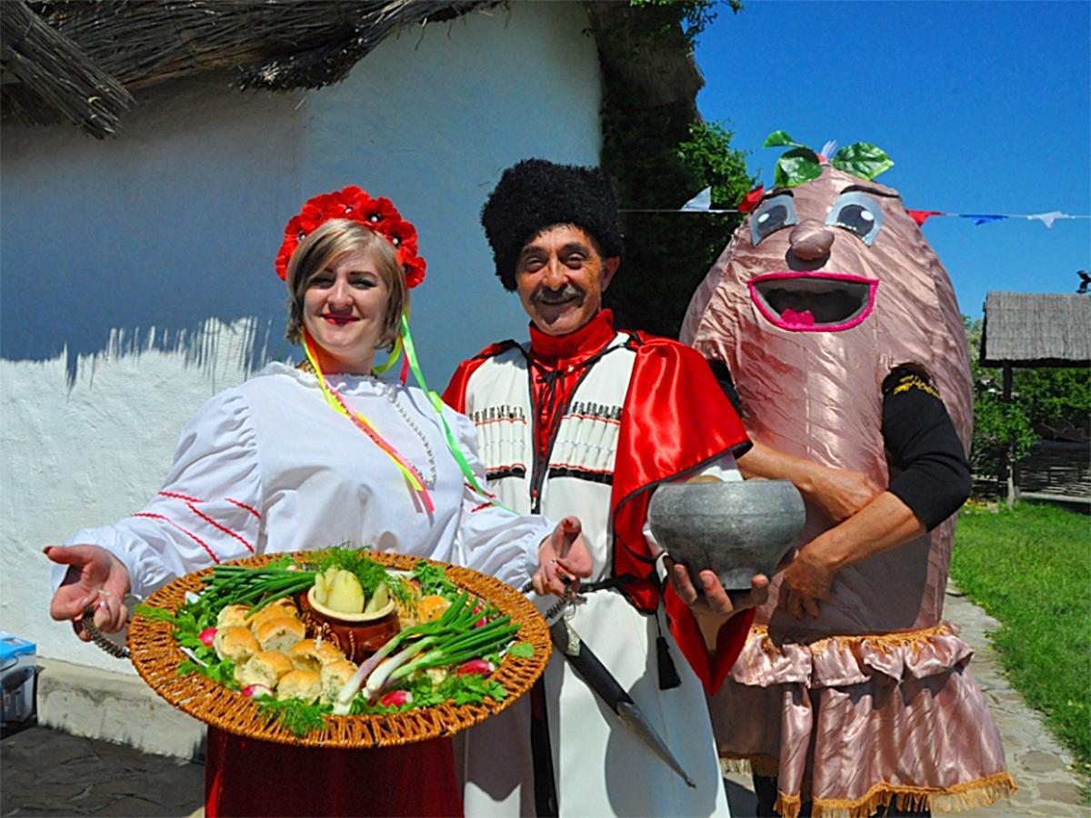 В этностанице «Атамань» прошел фестиваль картофеля