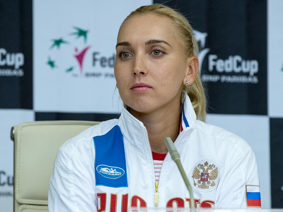Елена Веснина: я с первой секунды полюбила теннис