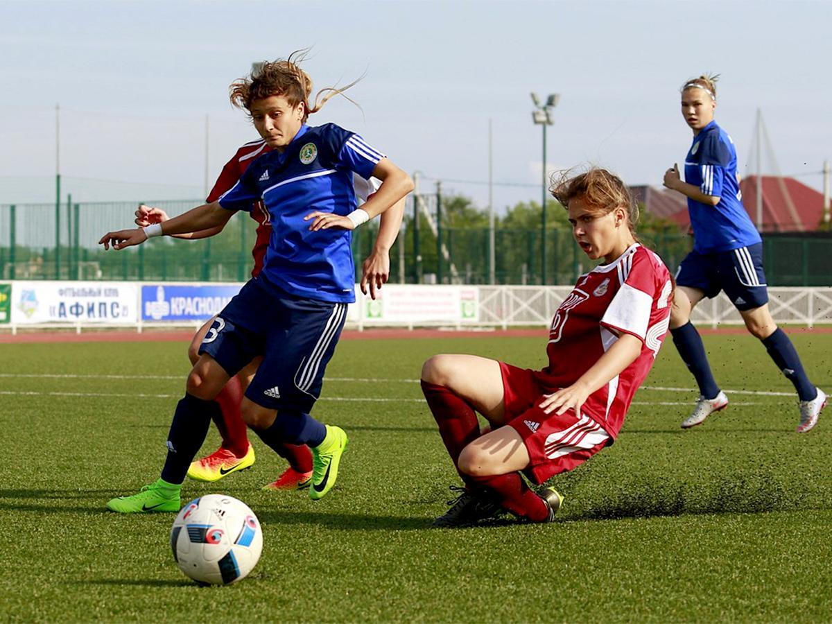 ФК «Кубаночка» сыграл с командой краснодарской спортивной школы — 9:0