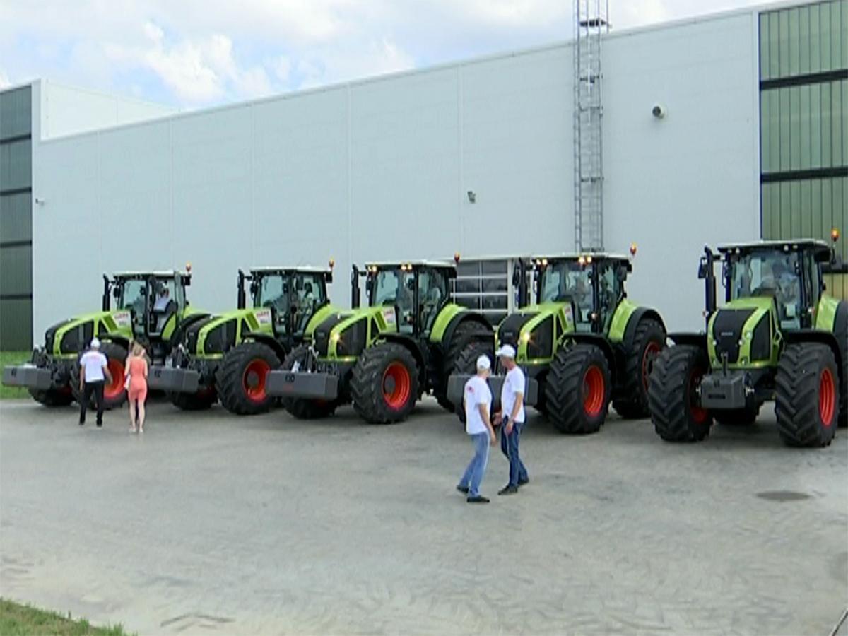 В Краснодаре день открытых дверей на заводе CLAAS собрал 2,5 тыс. гостей