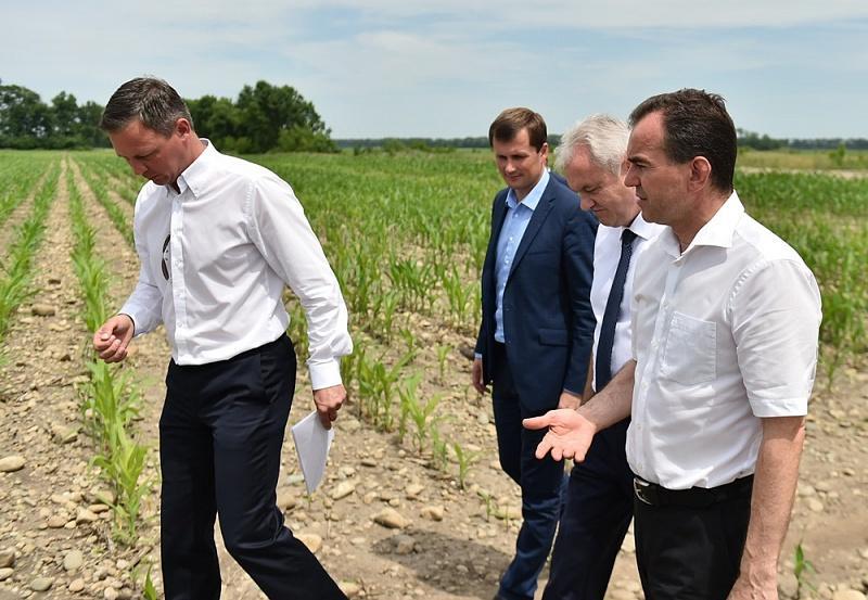 Вениамин Кондратьев посетил сельхозпредприятия и социальные объекты Курганинского района