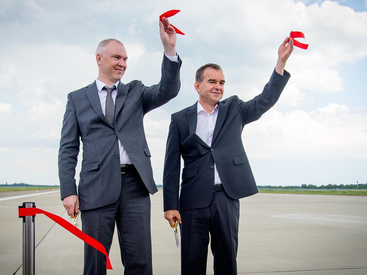 Аэропорт Краснодара будет принимать дальнемагистральные самолеты