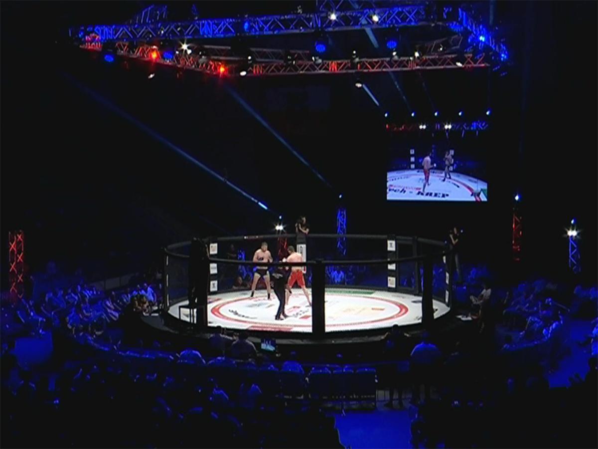 В краснодарском «Олимпе» прошел бойцовский турнир серии Prime Selection