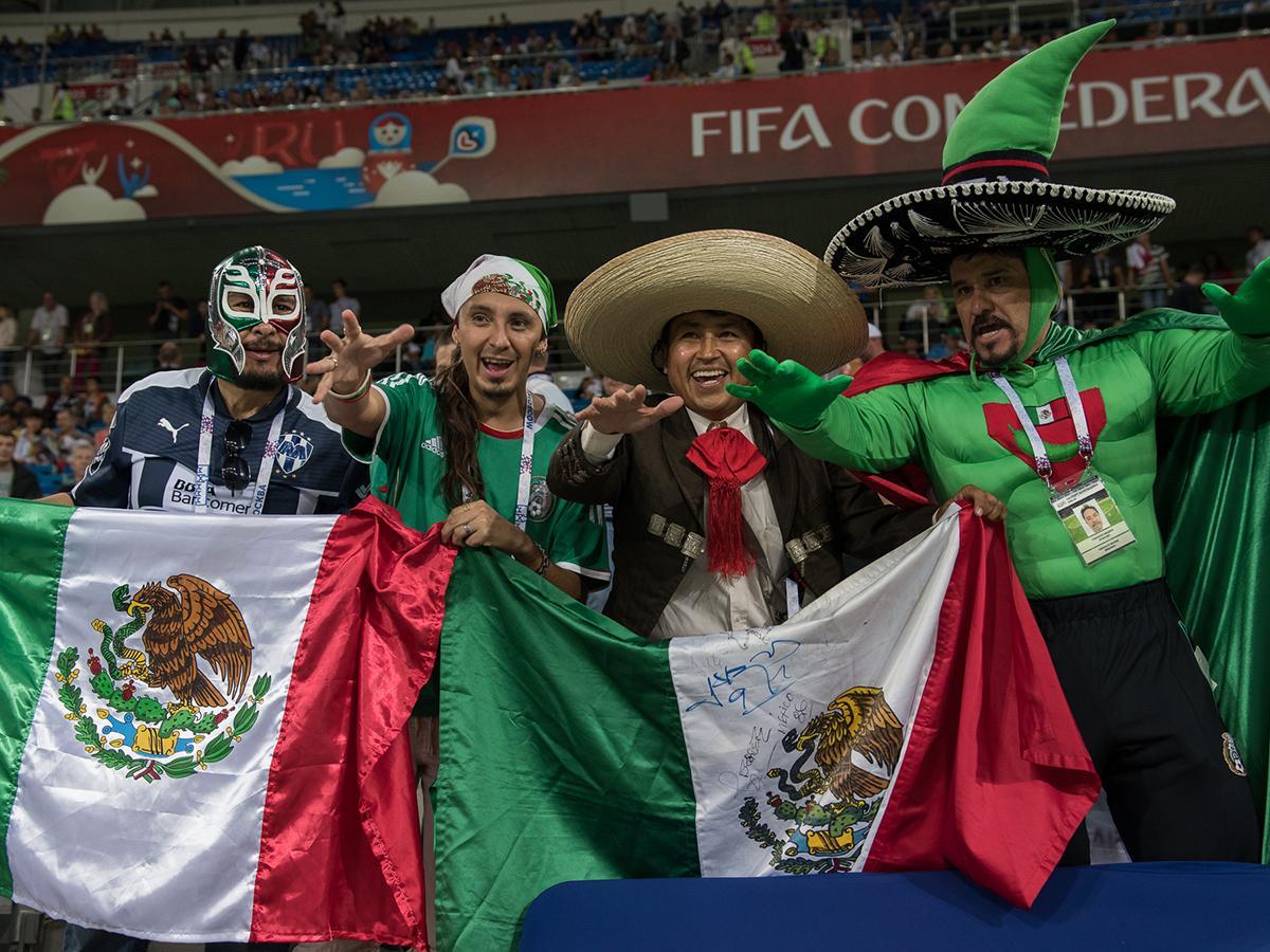 Болельщики из Мексики и Новой Зеландии рассказали, как следят за игрой команд на Кубке конфедераций