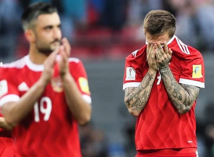 Сборная России не прошла в финал Кубка конфедераций