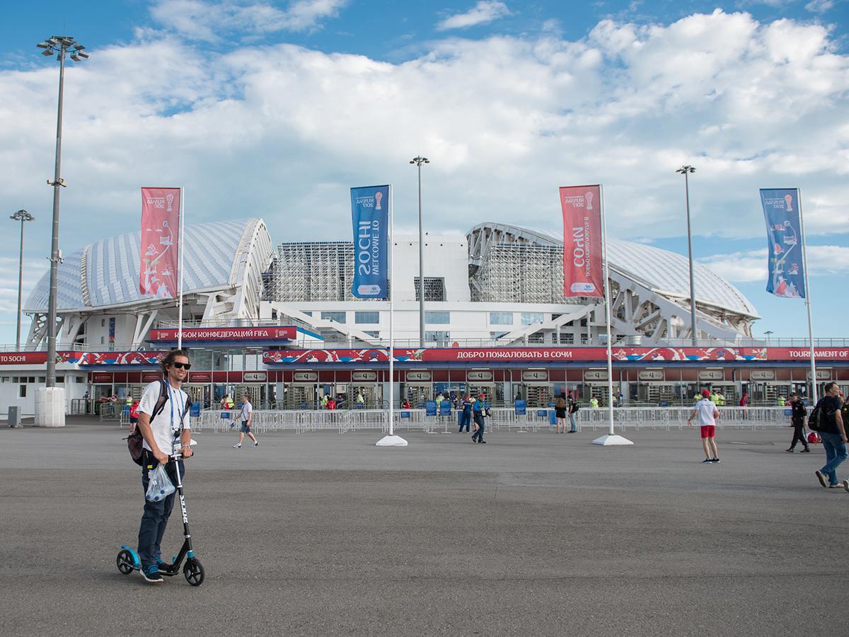 Журналисты и болельщики оценили организацию матчей на «Фиште»