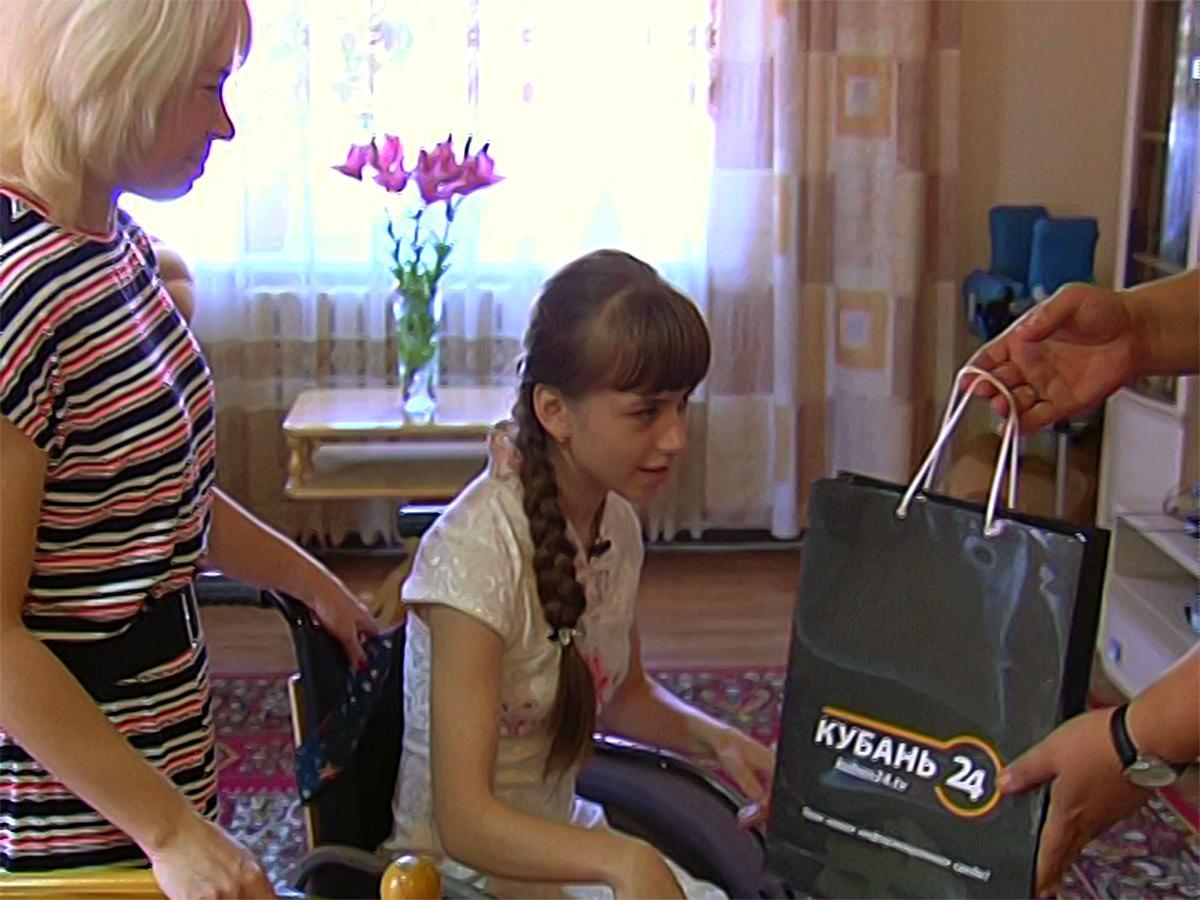 Подопечная фонда «Край Добра» Настя Швецова отметила день рождения