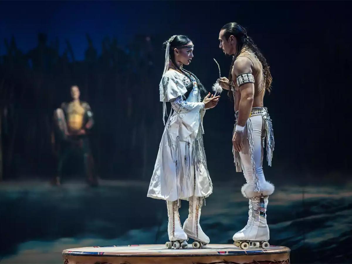 В постановке «Тотем» Cirque du Soleil задействованы 46 артистов из 17 стран