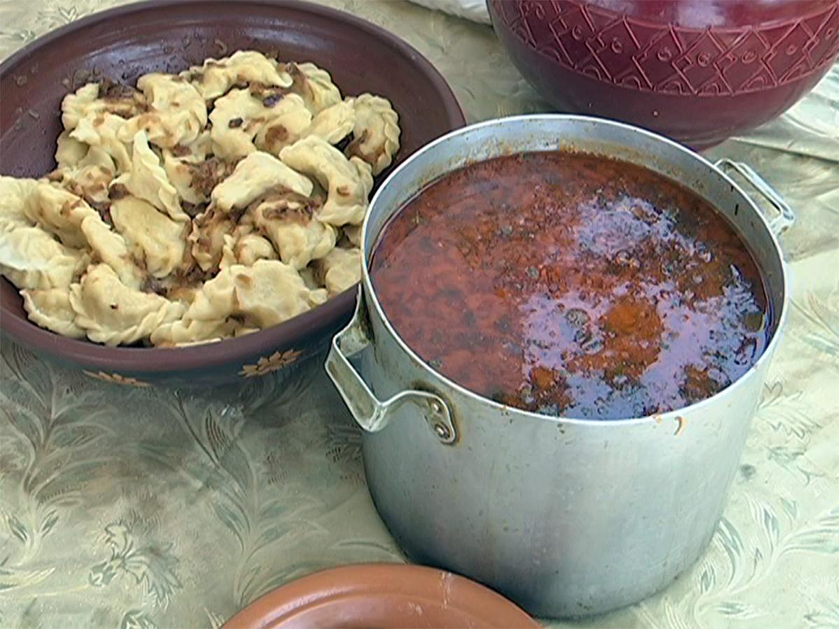 В «Атамани» приготовили вареники с гречкой