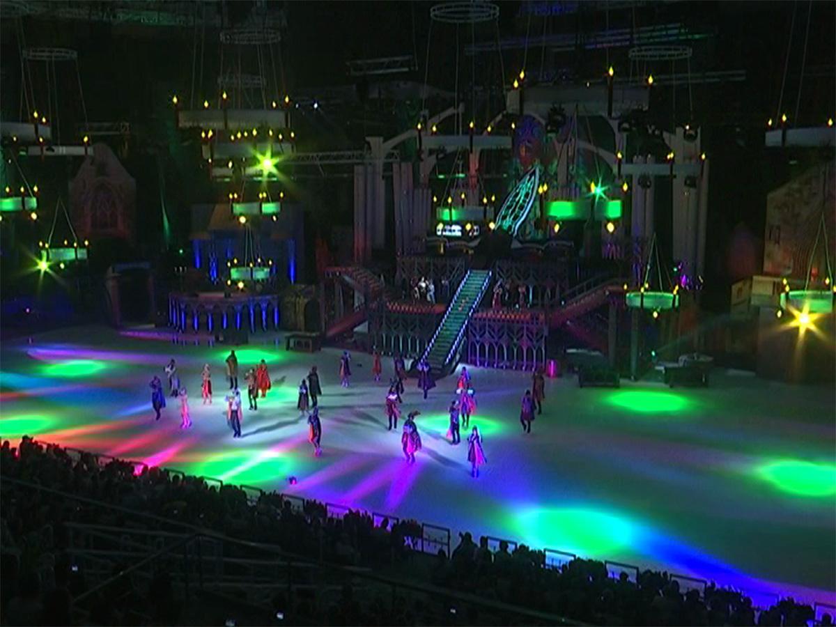 В Сочи в ледовом спектакле «Ромео и Джульетта» выступили семь олимпийских чемпионов