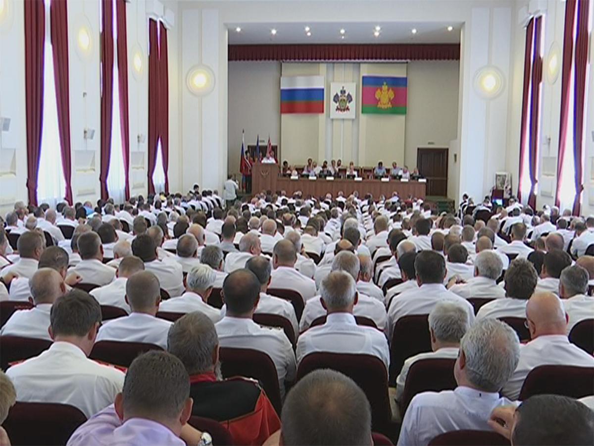 Численность Кубанского казачьего войска составила 50 тыс. 444 человека