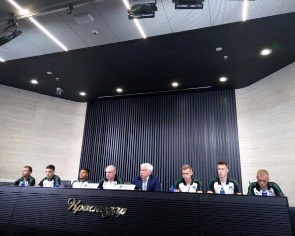 Руководство ФК «Краснодар»: мы подберем футболиста в линию атаки