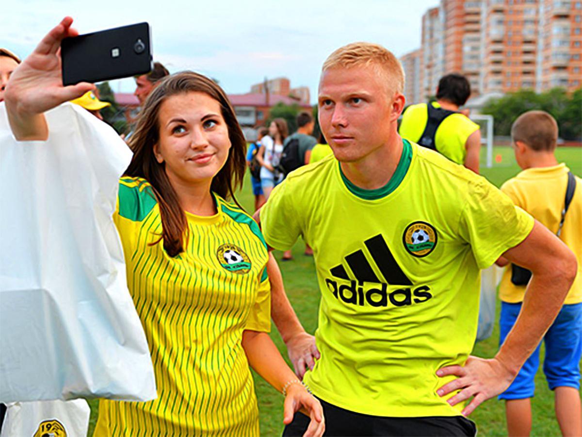 Как прошла открытая тренировка ФК «Кубань»