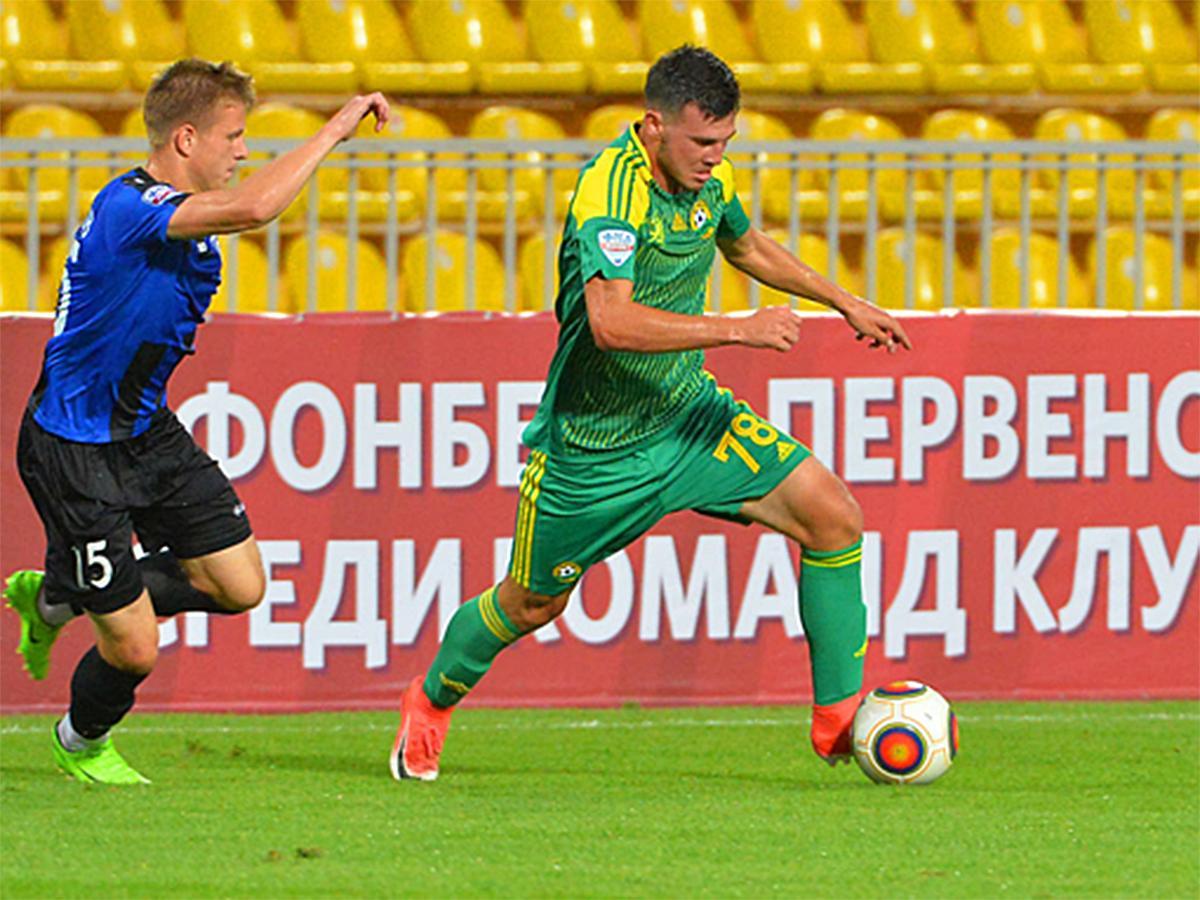 Как ФК «Кубань» сыграл с ярославским «Шинником»