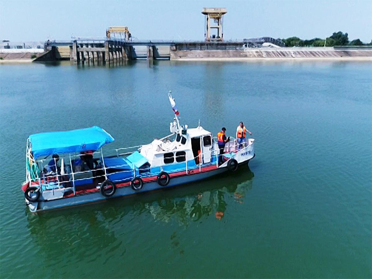 Как происходит обслуживание Краснодарского водохранилища
