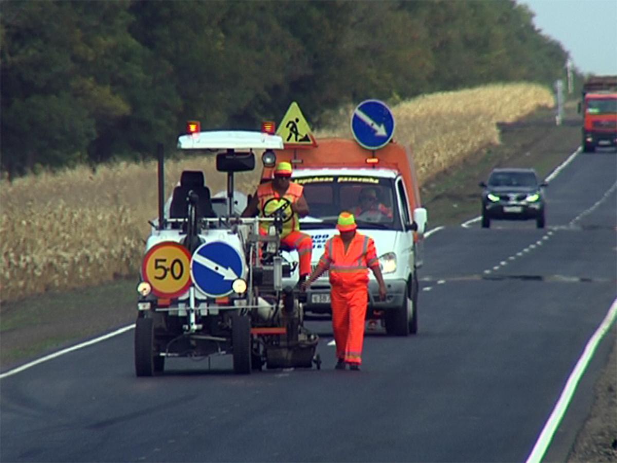 В Белоглинском районе начали обновлять дороги