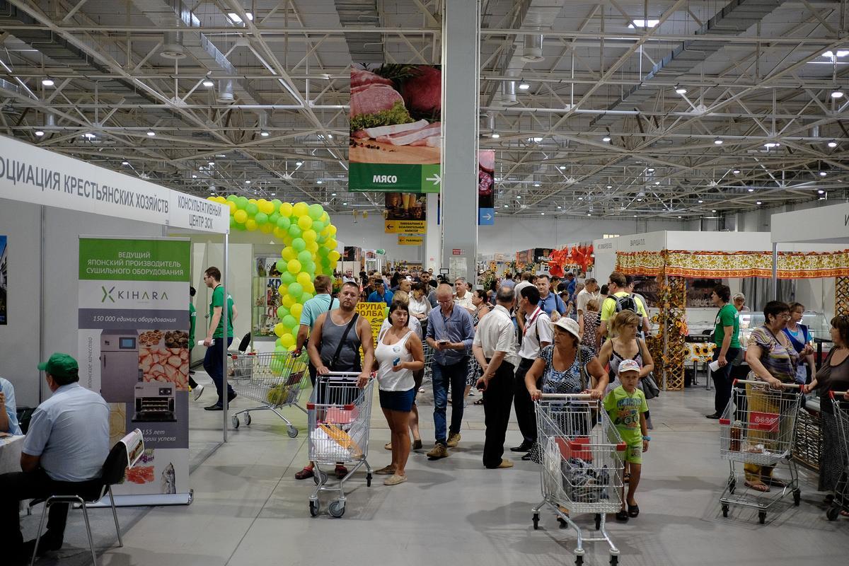 Корреспондент «Кубань 24» побывала на «Кубанской ярмарке» в Краснодаре