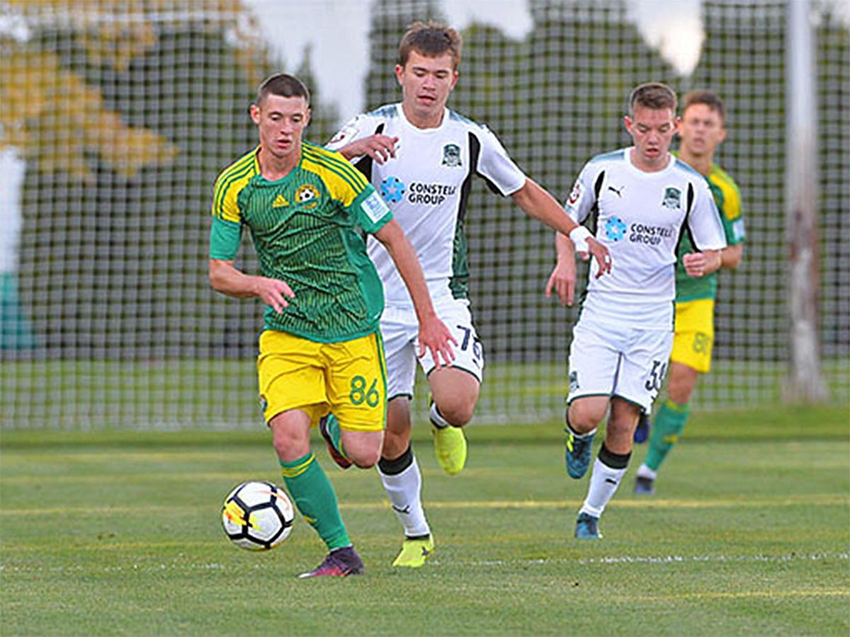 ФК «Краснодар-2» и «Кубань-2» провели дерби в очередном матче ПФЛ