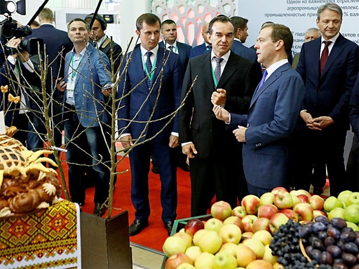 На выставке «Золотая осень» в Москве представили достижения Кубани в сфере АПК
