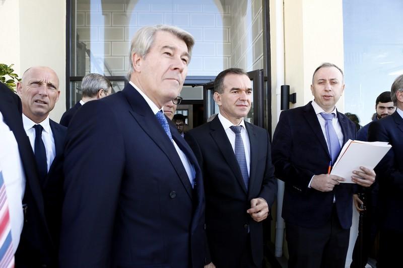 Кондратьев встретился в Сочи с руководителями ведущих немецких компаний
