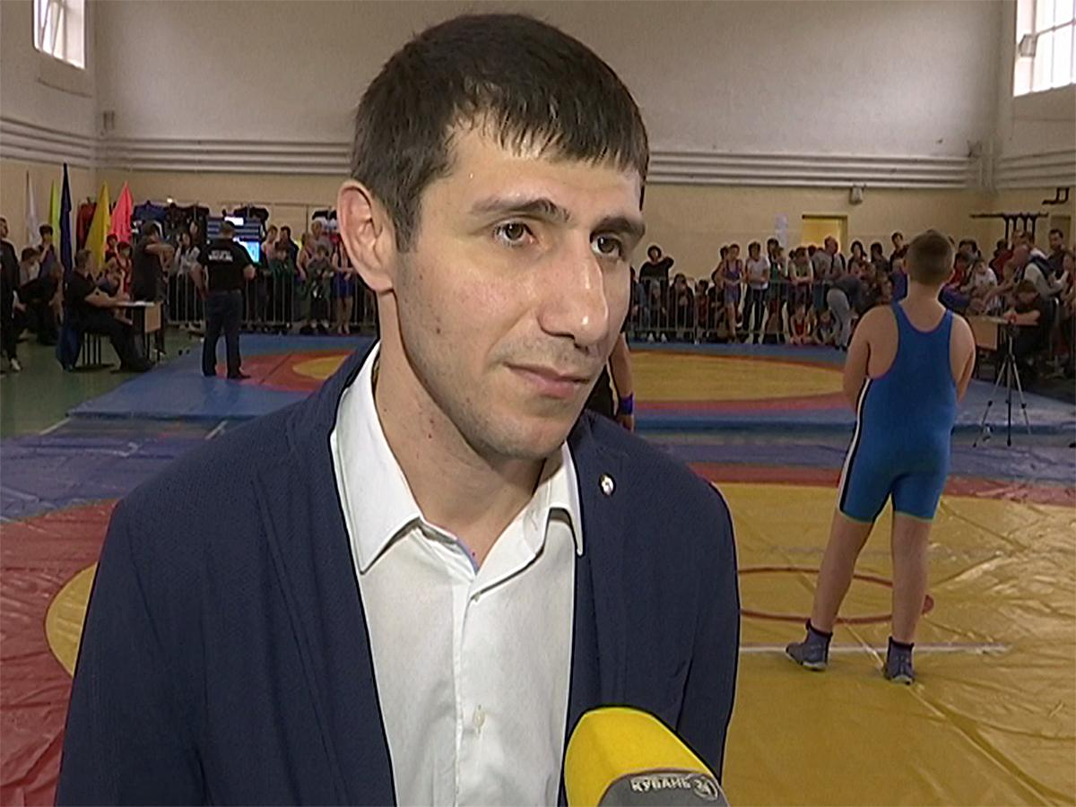 Директор ЦОП по спортивной борьбе Руслан Гакаме: на наши соревнования съедется половина России