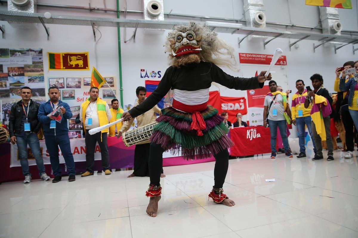 В Сочи завершился третий день Всемирного фестиваля молодежи и студентов