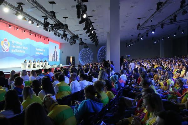 На фестивале молодежи в Сочи посвятили день странам Европы