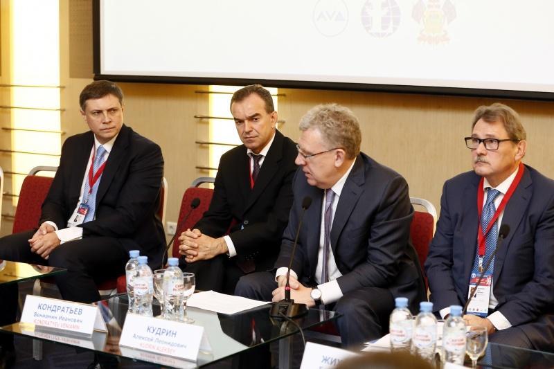 Алексей Кудрин: Краснодарский край входит в десятку субъектов РФ с развитием выше среднего