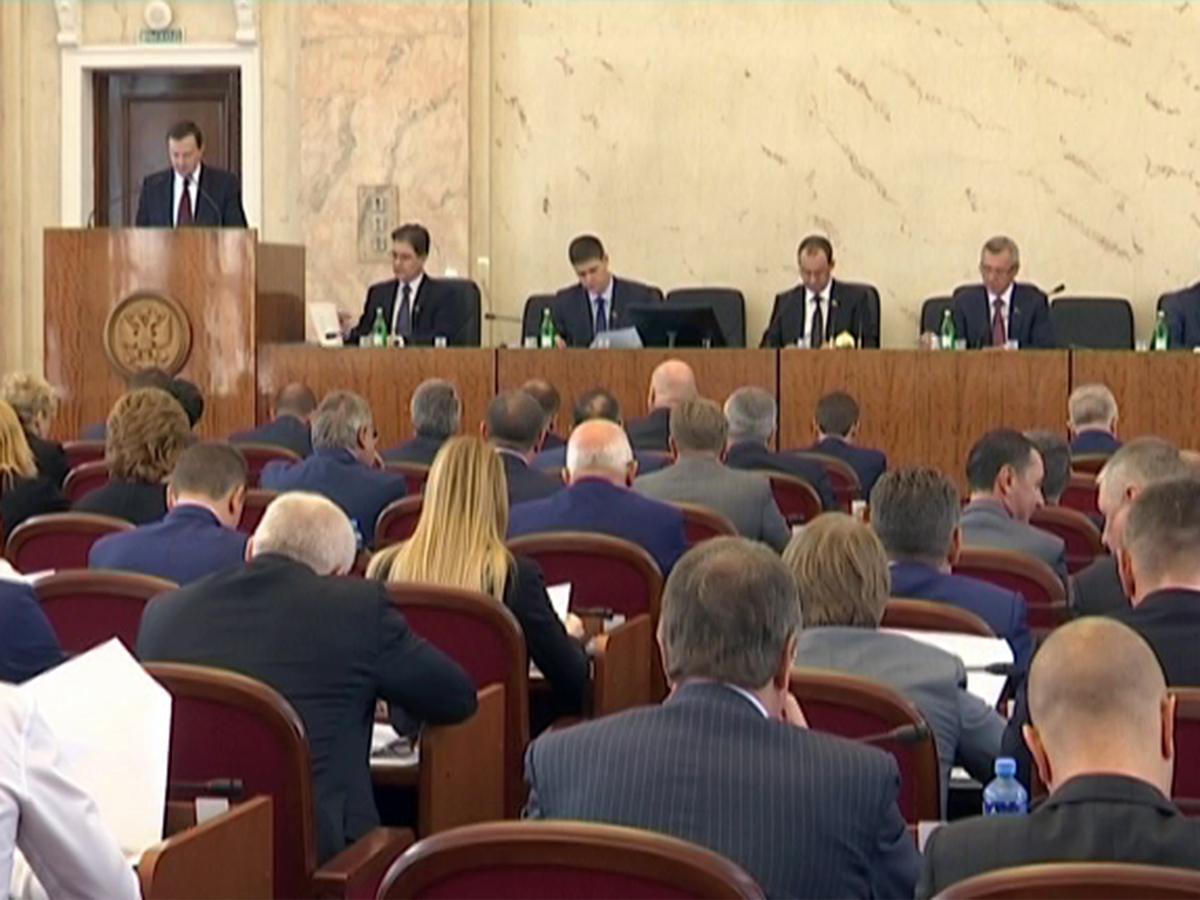 Какие решения приняли депутаты ЗСК на второй сессии